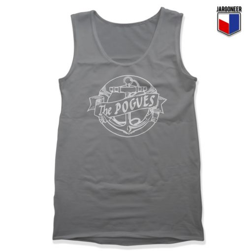 The Pogues Anchor Unisex Adult Tank Top
