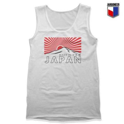 The Rising Sun In Fuji Unisex Adult Tank Top