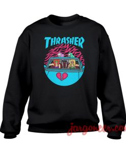 Thrasher Summertime Crewneck Sweatshirt