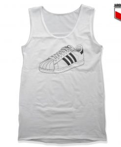 Three Stripes Superstar Unisex Adult Tank Top