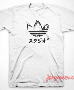 Totoro And Brand T-Shirt