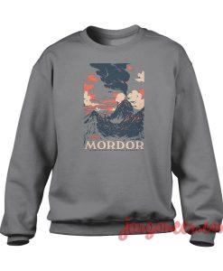 Visit Mordor Crewneck Sweatshirt