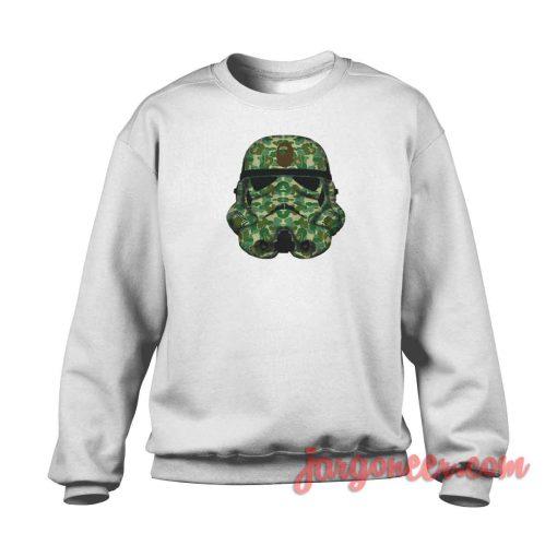 Bape Stormtroopers Crewneck Sweatshirt