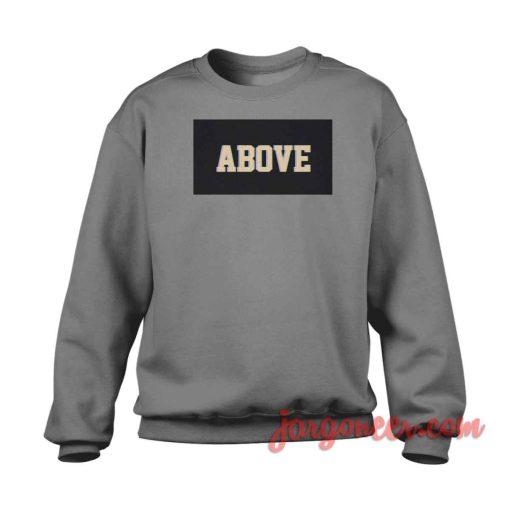 Above Black Box Crewneck Sweatshirt