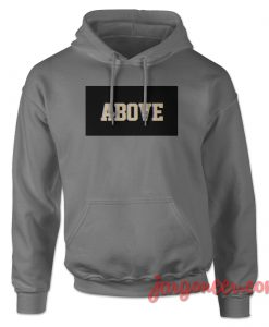 Above Black Box Hoodie