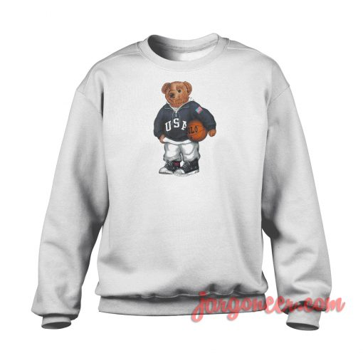 Bear Basket Crewneck Sweatshirt