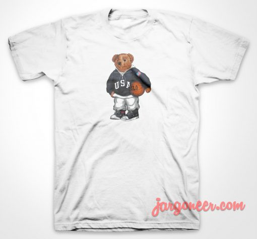 Bear Basket T Shirt