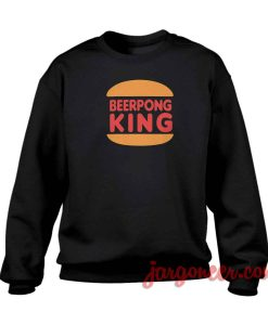 Beerpong King Crewneck Sweatshirt