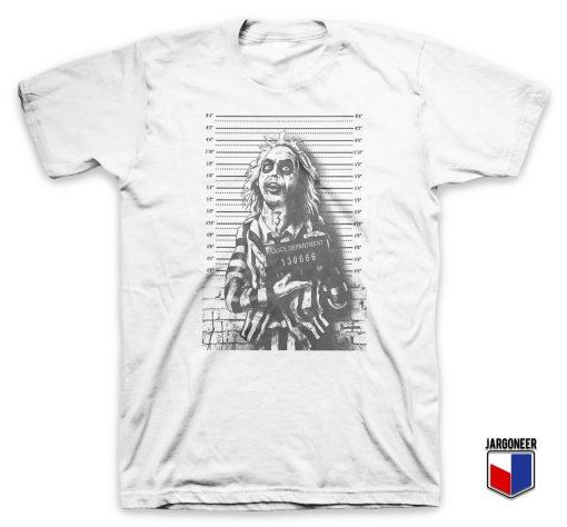 Beetlejuice Mugshot T Shirt