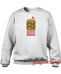 Benny's Burger Stranger Things Crewneck Sweatshirt