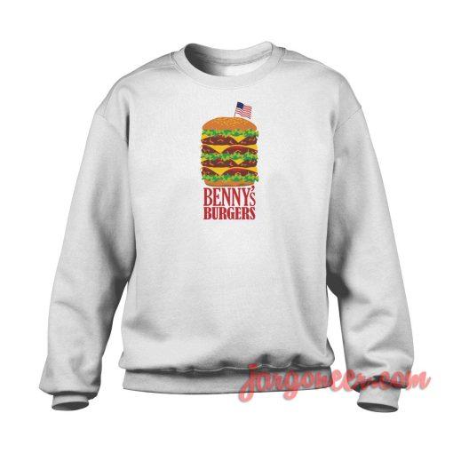 Benny's Burger Stranger Things Crewneck Sweatshirt