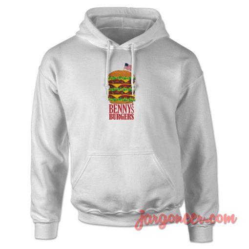 Benny's Burger Stranger Things Hoodie