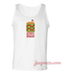 Benny's Burger Stranger Things Unisex Adult Tank Top