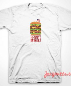 Benny's Burger Stranger Things T-Shirt