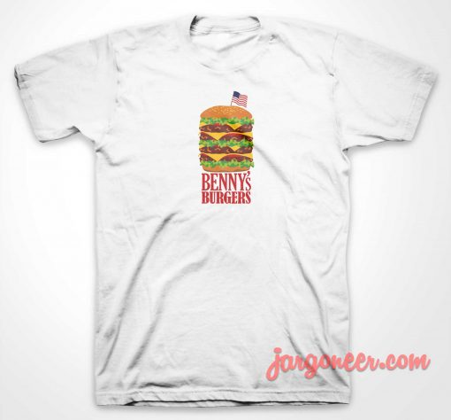 Benny's Burger Stranger Things T Shirt