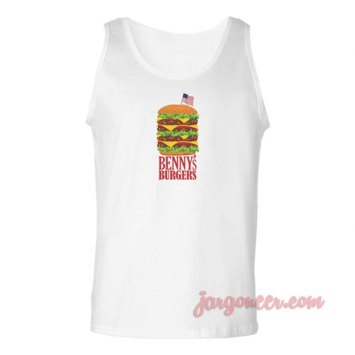 Benny's Burger Stranger Things Unisex Adult Tank Top