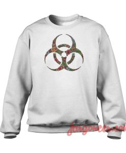 Bioflowers Crewneck Sweatshirt