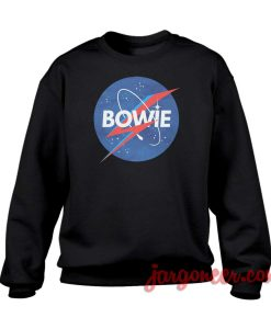 Bowie Nasa Parody Crewneck Sweatshirt