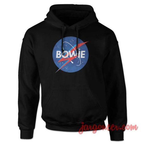 Bowie Nasa Parody Hoodie