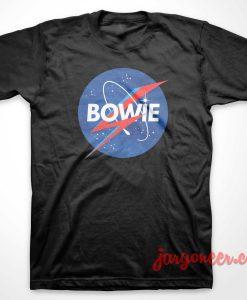 Bowie Nasa Parody T-Shirt