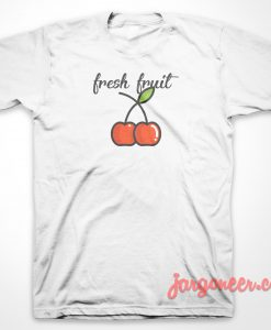 Cherry Fresh Fruit T-Shirt