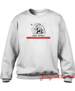 Chomp California Republic Crewneck Sweatshirt