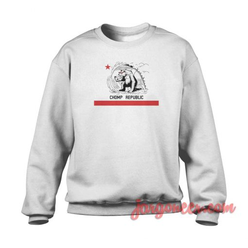 Chomp California Republic Crewneck Sweatshirt