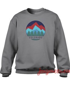 Colorado View Crewneck Sweatshirt