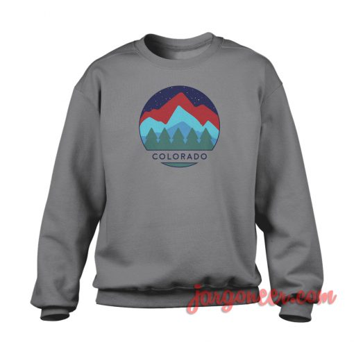 Colorado View Crewneck Sweatshirt