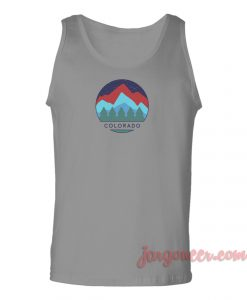 Colorado View Unisex Adult Tank Top