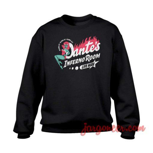 Dante's Inferno Room Crewneck Sweatshirt