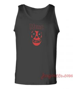 Deadpool Misfits Unisex Adult Tank Top