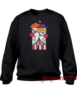 Drama Clown Parody Crewneck Sweatshirt