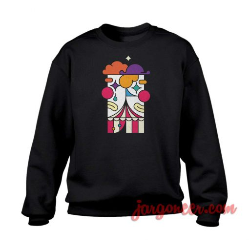 Drama Clown Parody Crewneck Sweatshirt