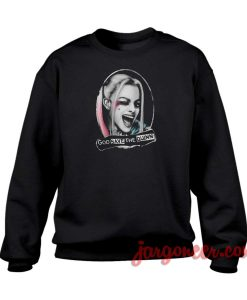 God Save The Quinn Crewneck Sweatshirt