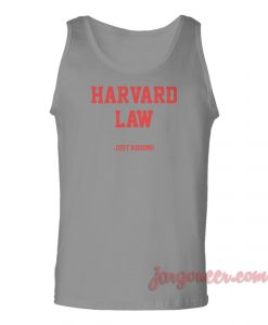 Harvard Law Unisex Adult Tank Top