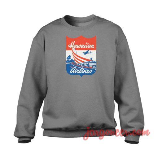 Hawaiian Vintage Airlanes Crewneck Sweatshirt