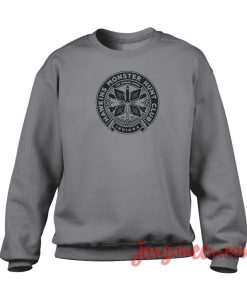 Hawkins Indiana Monster Club Crewneck Sweatshirt