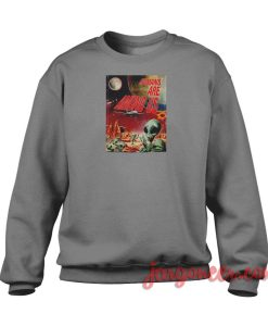 Humans Are Among Us Crewneck Sweatshirt