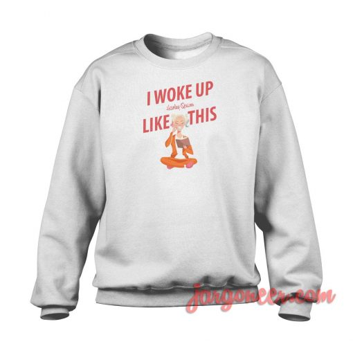 I Woke Up Like This Harley Quinn Crewneck Sweatshirt