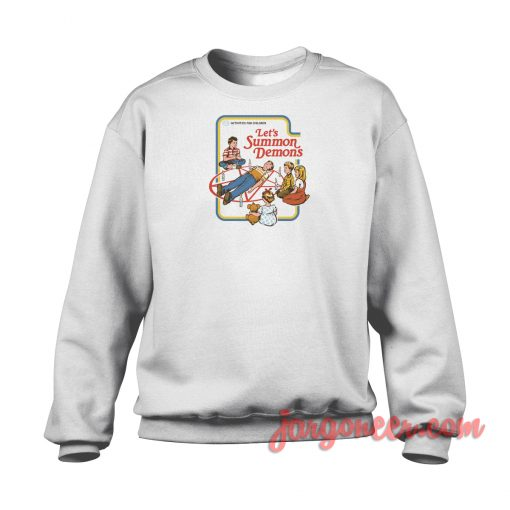 Let's Summon Demons Crewneck Sweatshirt
