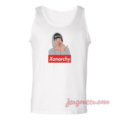 Lil Xan Xanarchy Unisex Adult Tank Top