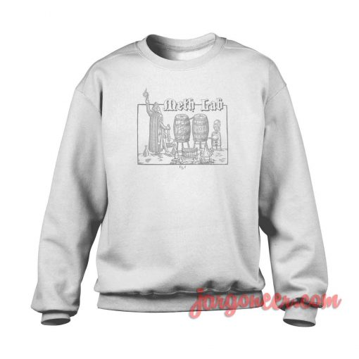 Meth Lab Breaking Bad Crewneck Sweatshirt