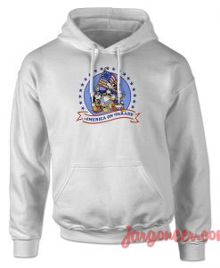 Mickey On America Parade Hoodie