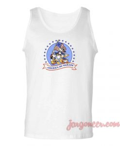 Mickey On America Parade Unisex Adult Tank Top
