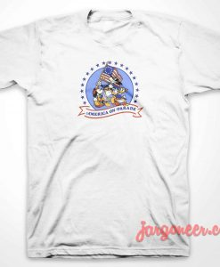 Mickey On America Parade T-Shirt