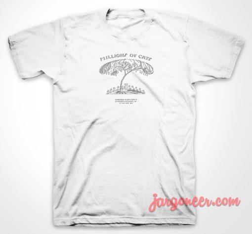 Millions Cat Vintage T Shirt
