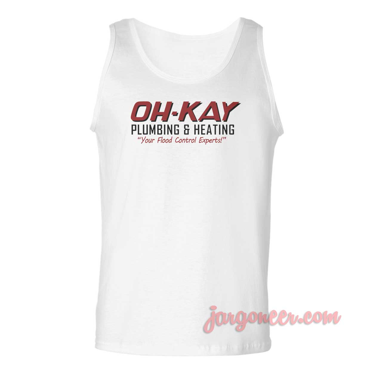 Oh Kay Plumbing And Heating Unisex Adult Tank Top