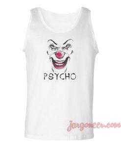 Psycho Clown Unisex Adult Tank Top