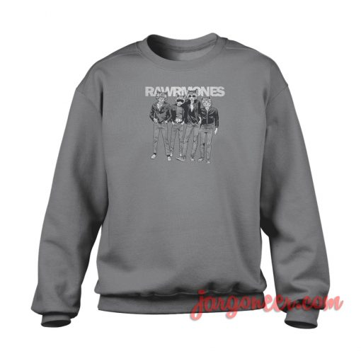 Rawrmones Cat Crewneck Sweatshirt